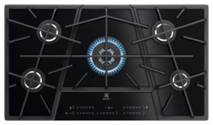 Встраиваемая варочная панель газовая Electrolux KGV9539IK Black