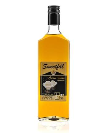 Сироп Sweetfill крем-сода стекло 500 мл
