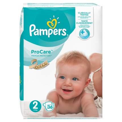 Подгузники для новорожденных Pampers ProCare Mini 3-6 кг 36 шт.