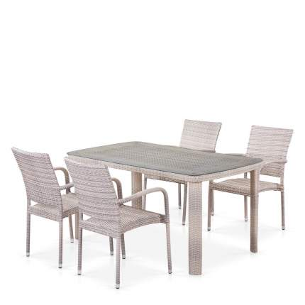 Комплект плетеной мебели T51A/Y376-W85-150x85 4Pcs