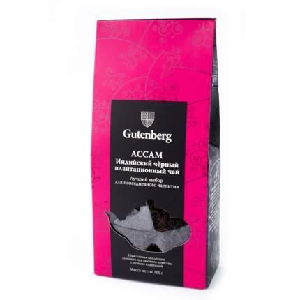 Чай черный Gutenberg индийский ассам 100 г