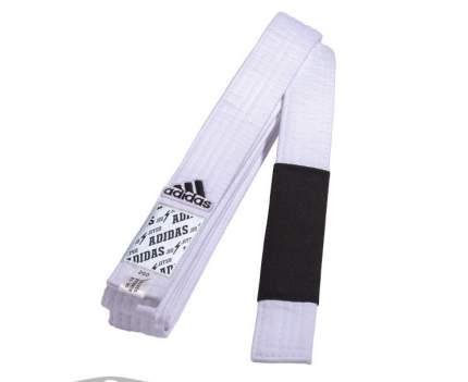 Пояс для джиу-джитсу Adidas Club белый, A3
