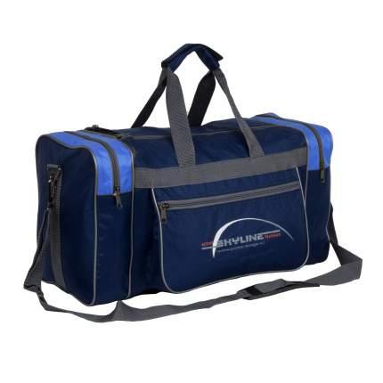 Спортивная сумка Polar 6009/6 голубая