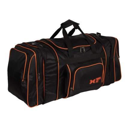 Дорожная сумка Polar 6072с черная 81/99 x 40 x 32
