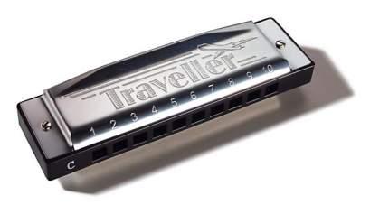 Губная гармоника диатоническая HOHNER Traveller C