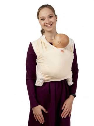 Слинг-шарф трикотажный Мамарада молочный