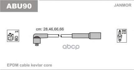Комплект проводов зажигания JANMOR ABU90