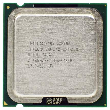 Процессор Intel Core 2 Extreme Edition QX6700 OEM