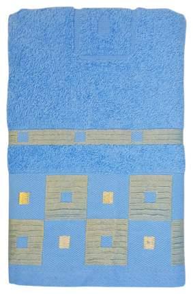 Банное полотенце, полотенце универсальное Belezza голубой, бежевый