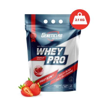 Протеин GeneticLab Nutrition Whey Pro 2 2100 г Strawberry