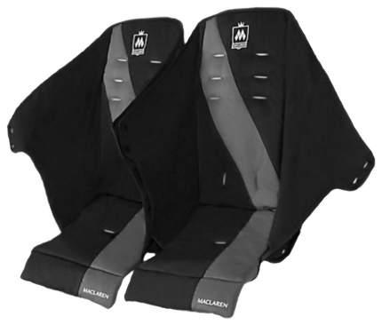 Чехол на сиденье для детской коляски Maclaren Twin Triumph Black/Charcoal