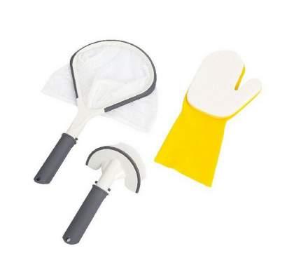 Bestway, Набор для чистки SPA бассейнами, 3 предмета: сачок, руковица, щётка, 58421 BW