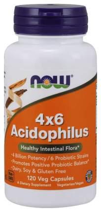 Для пищеварения NOW Acidophilus 4x6 120 капсул