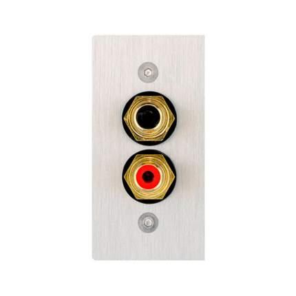Клемная панель In-Akustik Premium Audio Cable Terminal 56x28 2 RCA (00980085026)