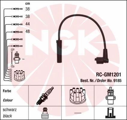 Комплект проводов зажигания NGK 9185