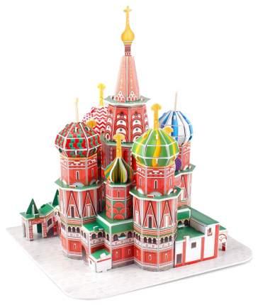 Объемный 3D-пазл CubicFun Собор Василия Блаженного C239h