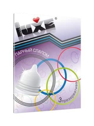 Презервативы Luxe Trio Парный Слалом 3 шт.