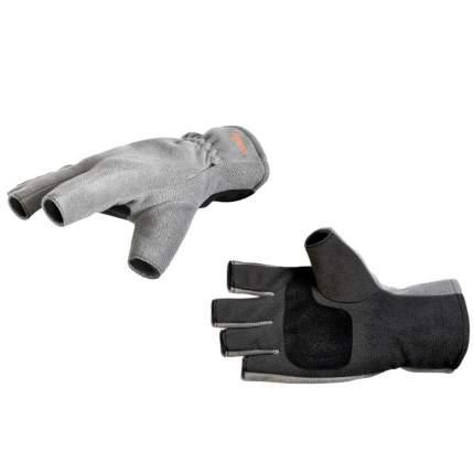 Перчатки-варежки мужские Norfin Point, серые/черные, XXL