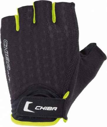 Перчатки для фитнеса Chiba Lady Line Air, черные, S