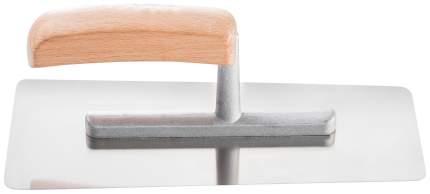 """Гладилка Hardy """"Stucco"""" нержавеющая сталь, для декоративных работ 24х11х9, дер.ручка"""