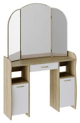 Туалетный столик Трия 162х106,8х33 см, бежевый