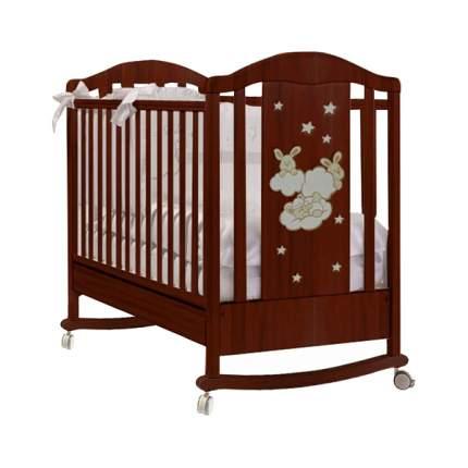 FERETTI Кровать детская Romance Dondolo (цвет: noce/темный) L-ROM-PG-05