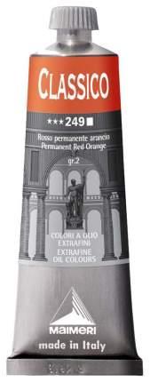 Масляная краска Maimeri Classico прочный оранжево-красный 60 мл
