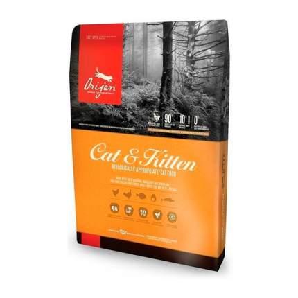 Сухой корм для кошек и котят Orijen Cat & Kitten, цыпленок, 2,27кг