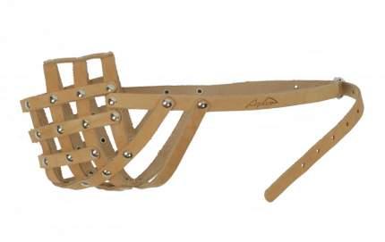 Намордник для собак Аркон, бежевый, размер 32 см