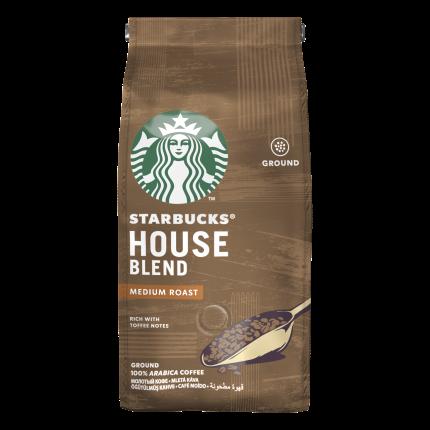 Кофе молотый Starbucks House Blend средней обжарки 200 г