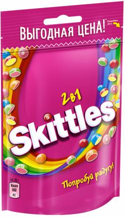 Драже Skittles 2в1 100 г