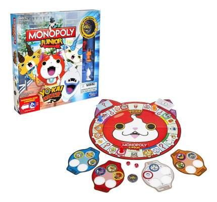 Настольная игра монополия джуниор йо-кай вотч b6494