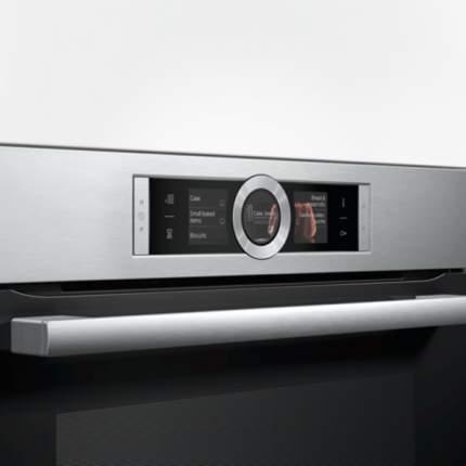 Встраиваемый электрический духовой шкаф Bosch HBG636BS1 Silver