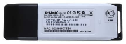 Приемник Wi-Fi D-Link DWA-160 White/Black