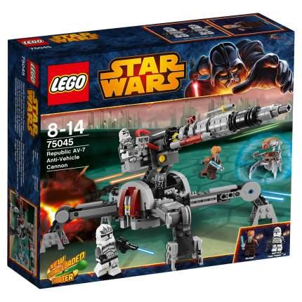 Конструктор LEGO Star Wars Противотанковое орудие Республиканцев AV (75045)