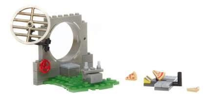 Конструктор пластиковый Mega Bloks® Черепашки ниндзя Тренировочный лагерь DMX33 DMX34