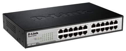 Коммутатор D-Link DGS-1024C/A1A Серый, черный