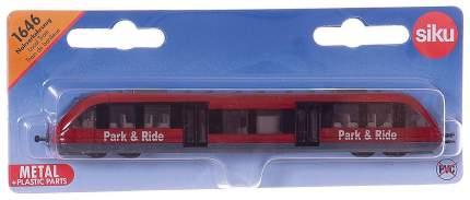 Игрушка SIKU Пригородный поезд красный (1646)