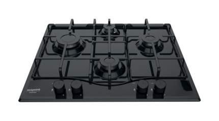Встраиваемая варочная панель газовая Hotpoint-Ariston PCN 642 /HA(BK) Black