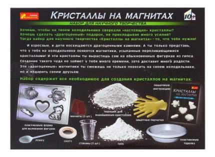 Набор для выращивания кристаллов Ranok Creative Кристаллы на магнитах белые