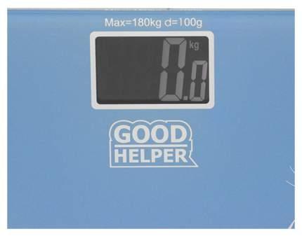 Весы напольные Goodhelper BS-S40 Голубой