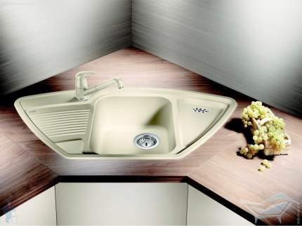 Мойка для кухни керамическая Blanco PRION 9 E 512867 белый