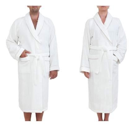 Халат банный Luxberry Basic бело-бежевый (M)