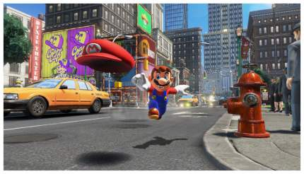 Игра для Nintendo Switch Super Mario Odyssey