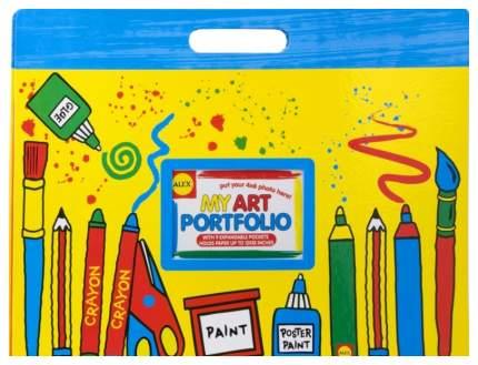 Большая папка Alex для детских рисунков и фото 427W