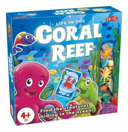 Семейная настольная игра Tactic games Коралловый риф