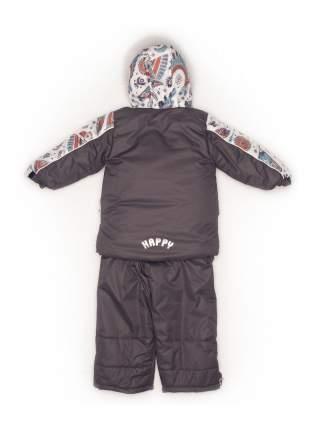 Комплект: куртка и полукомбинезон с опушкой N92/1 (Виг-вам+серый)