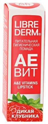 Гигиеническая помада Librederm Aevit A&E Vitamins Lipstick Дикая Клубника 4 г