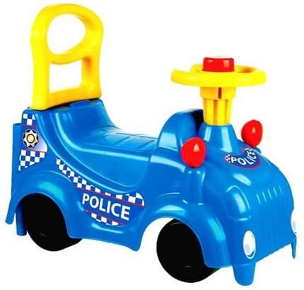 Машинка каталка Zebratoys Полиция звук 15-5428