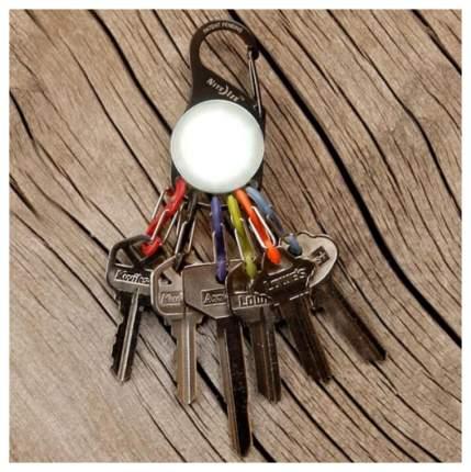 Набор карабинов Nite Ize S-Biner KeyLit White LED KRL-03-02